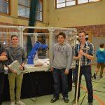 Die Tiroler Fachberufschule für Wirtschaft und Technik präsentierte einen Roboterarm.