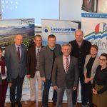 Der Regionale Lenkungsausschuss  Mitte  im Dezember 2017 im Rathaus von Tittmoning